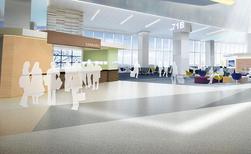 Sfo Airport Terminal 3 Sanveo